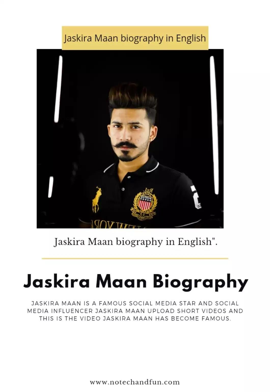 Jaskira maan Biography