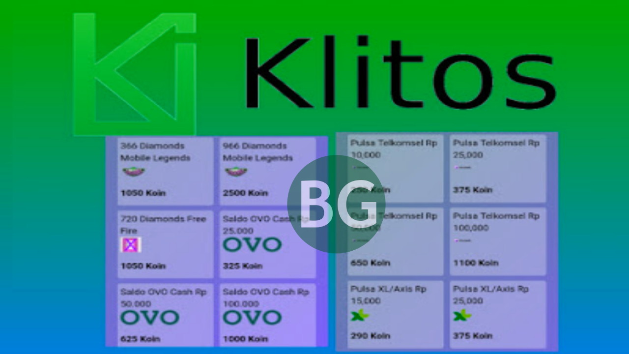 Klitos, Aplikasi Penghasil Gopay, Pulsa, OVO dan Diamond Tercepat Terbaru