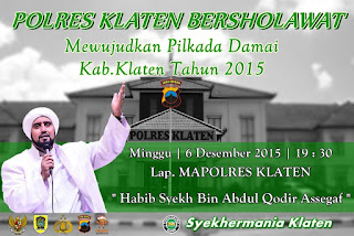 Jadwal Habib Syech Bulan Desember 2015 Terbaru