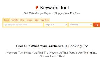 gambar Keyword Tool