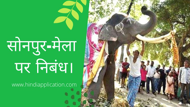 Essay on Sonpur-Mela In Hindi