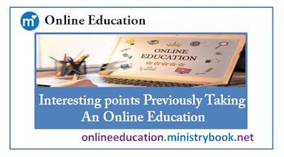 Interesting points Previously Taking An Online Education