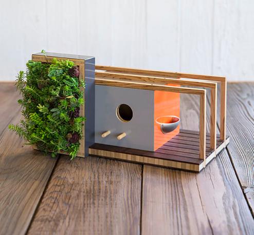 2f7099ecee071 ... arquitectos como Frank Lloyd Wright y algunos modelos incluyen incluso  pequeñas plantas que le dan un toque adorable y acogedor. Eso sí