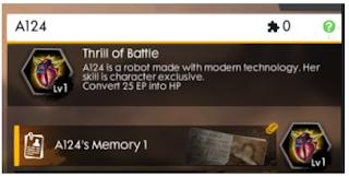 A124 free fire ~ Karakter baru di advance server Free Fire || Skill Karakter A124