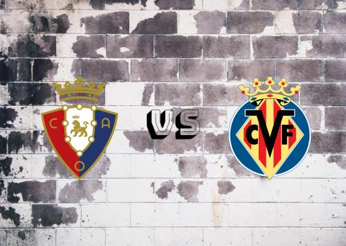 Osasuna vs Villarreal  Resumen