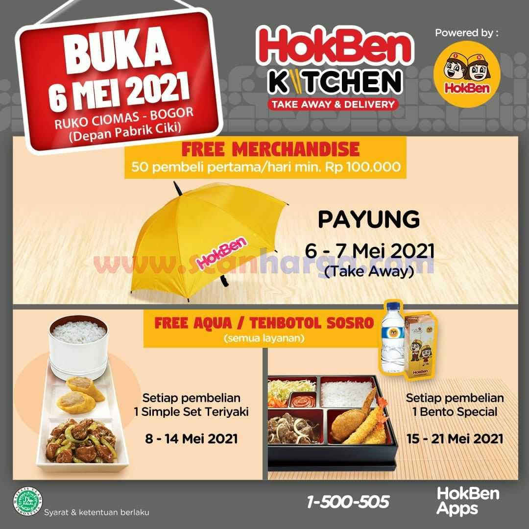 Promo Hokben Kitchen Ruko Ciomas Bogor Grand Opening