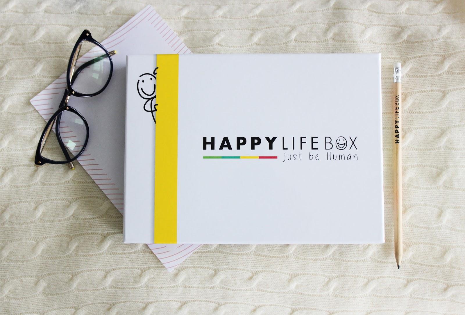 Happy Life Box, Février 2018, la box de développement personnel