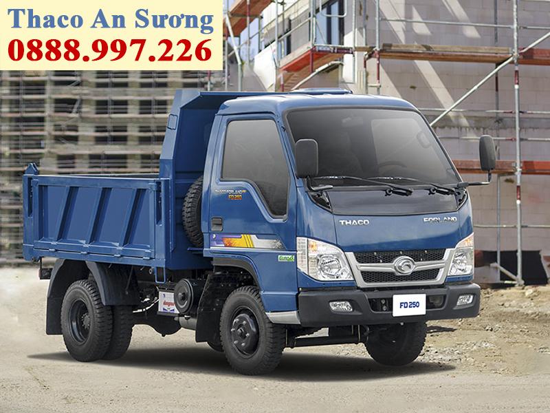 xe ben forland thaco fd250 tải 2,5 tấn