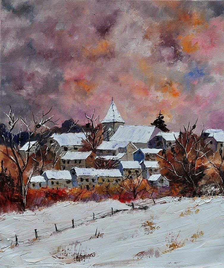 Self Taught Belgium Painter Pol Ledent