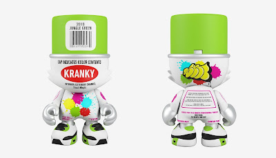 Jungle Green SuperKranky Vinyl Figure by Sket One x Superplastic