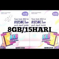 Voucer Axis 8GB/15HARI