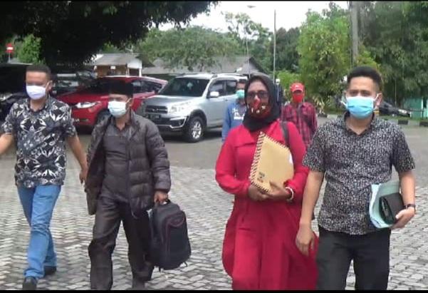 Dua Pekon Gugat Dan Merasa Keberatan Hasil Penghitungan Suara Pilkakon 16 Desember Lalu.