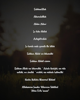 Quick Daily Dhikr