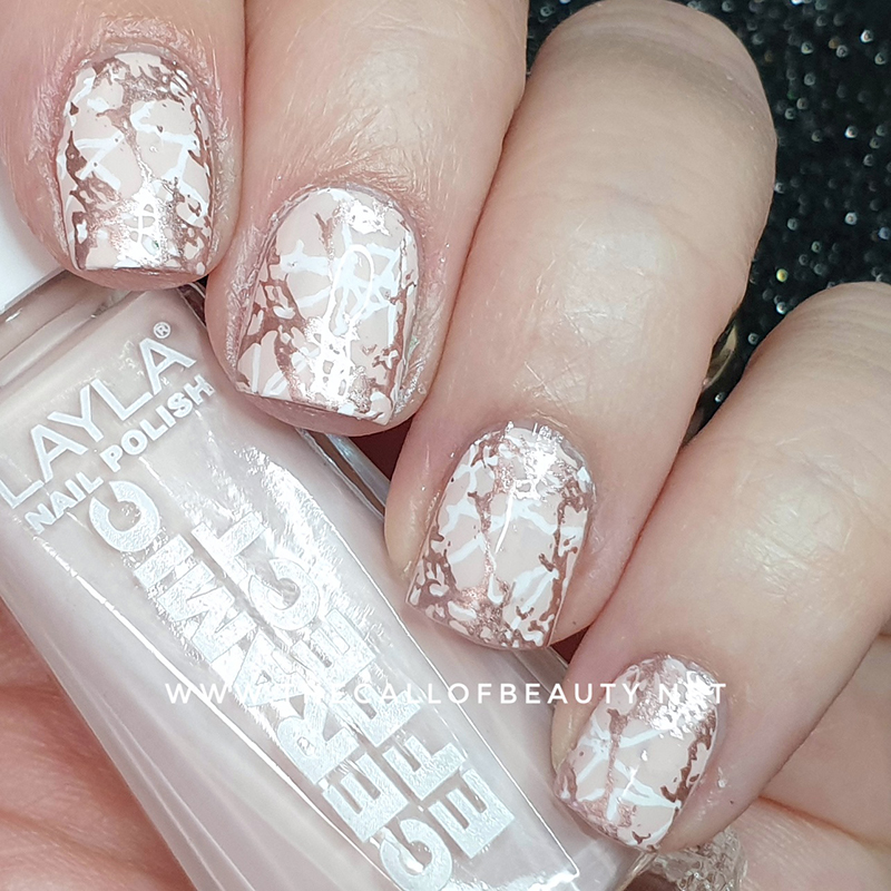 Pink Marble Manicure