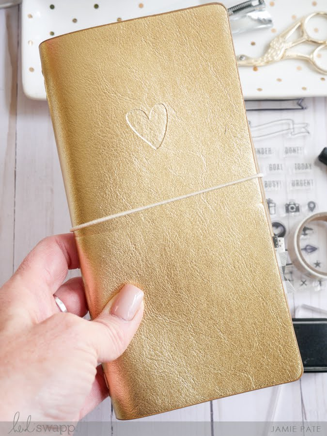 Seven Reasons for a Handmade by Heidi Travelers Journal by Jamie Pate | @jamiepate for @heidiswapp