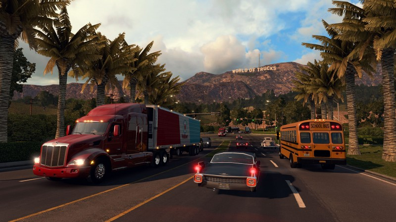 An open beta version of the multiplayer game for American Truck Simulator is already available