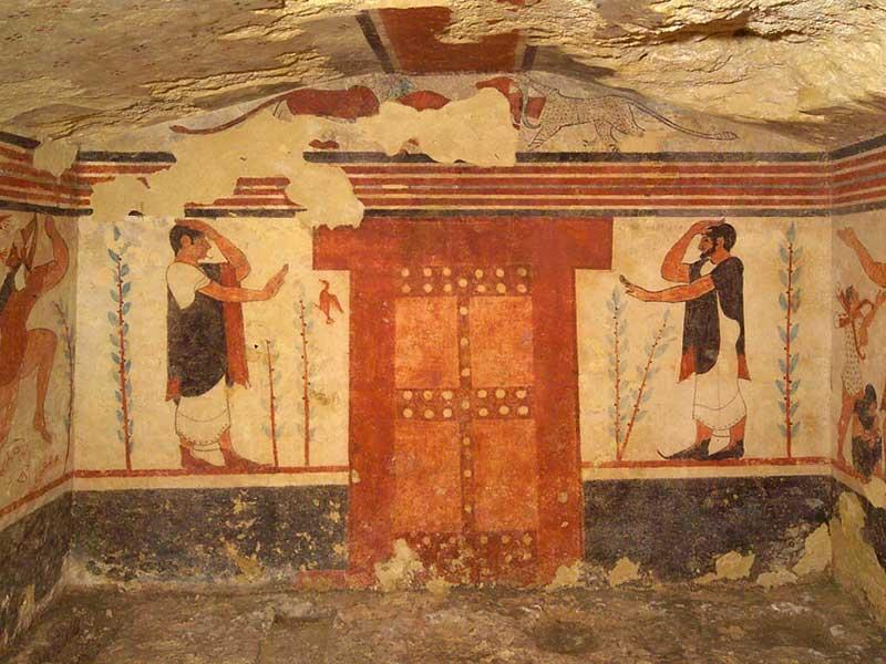 Necropoli Etrusca e Museo Archeologico di Tarquinia: Gita Fuori Porta