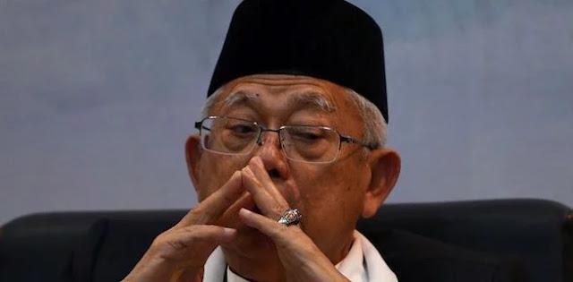 Ma'ruf Amin Belum Efektif Beri Nilai Tambah Jokowi