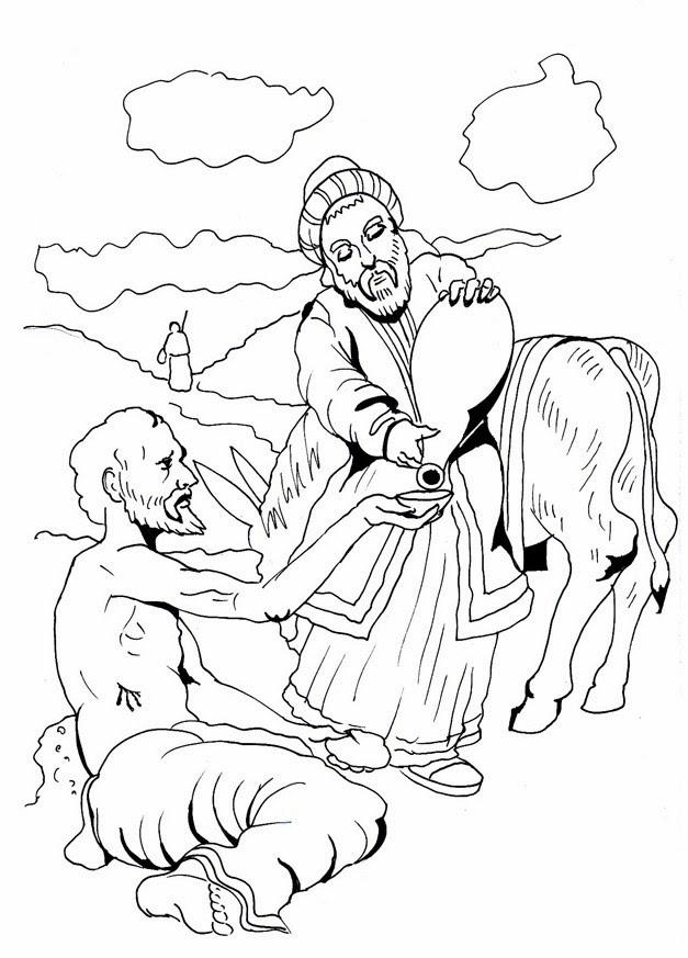 Bonito El Buen Samaritano Para Colorear Imágenes - Dibujos Para ...