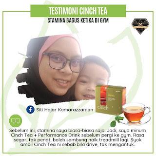 Testimoni Cinch® Tea Mix shaklee energy booster