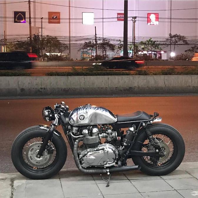 Punk RockTriumph T100 Brat/Bobber/Cafe Racer