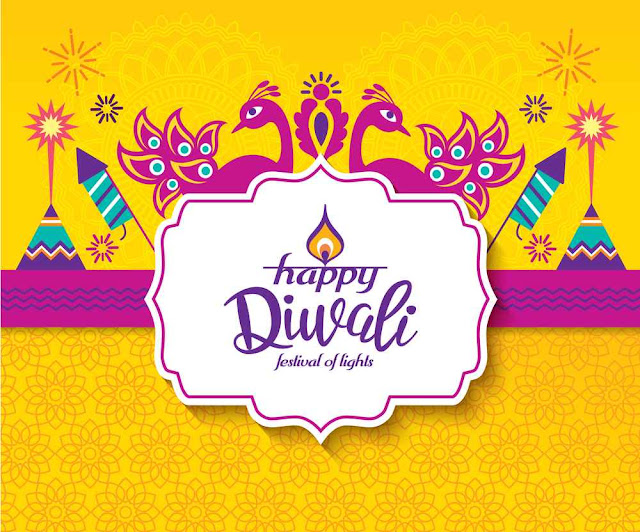 diwali background for social media
