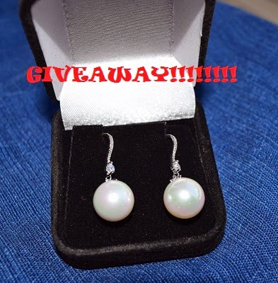 orrous legacy 18k Gold Plated White Shell Pearl with Cubic Zirconia Accented Drop Earrings