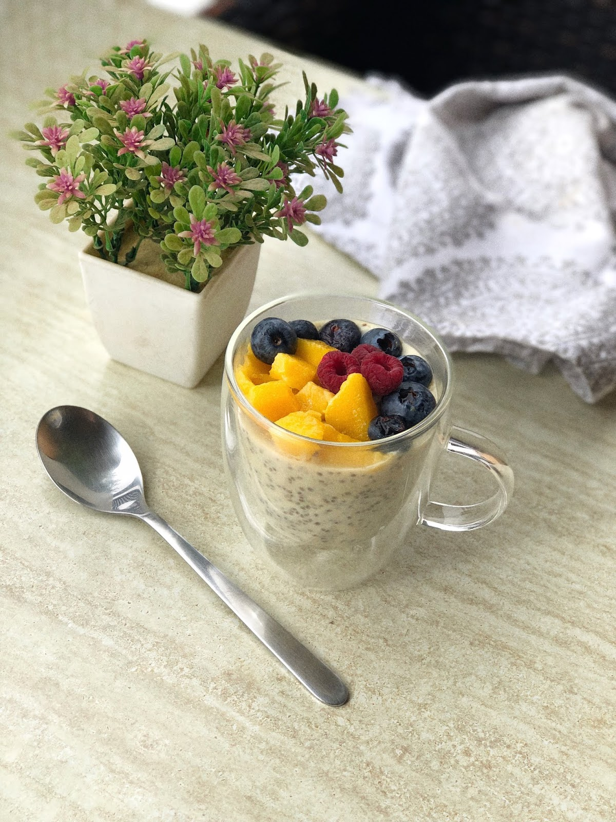 Fitness And Chicness-Mango Chia Pudding-3