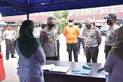 Kapolda Cek Pos Penyekatan di Batas Kota Dengan Kabupaten Muaro Jambi