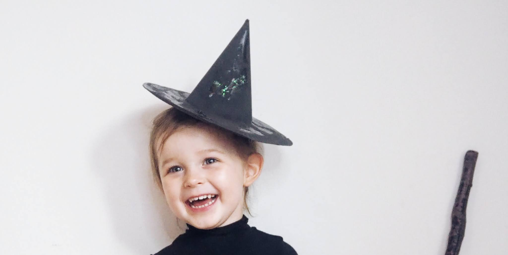 Toddler DIY halloween hat
