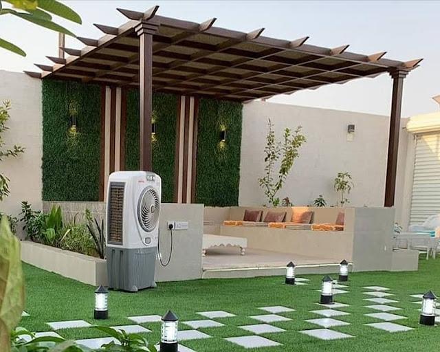شركة جلسات حدائق بالقصيم تصميم جلسات حدائق ببريدة وعنيزة جلسات حدائق خارجية بالقصيم