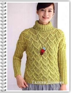 yaponskii-uzor-spicami | knitting-patterns | ўzori-spіcamі | vіzerunki-spicyami