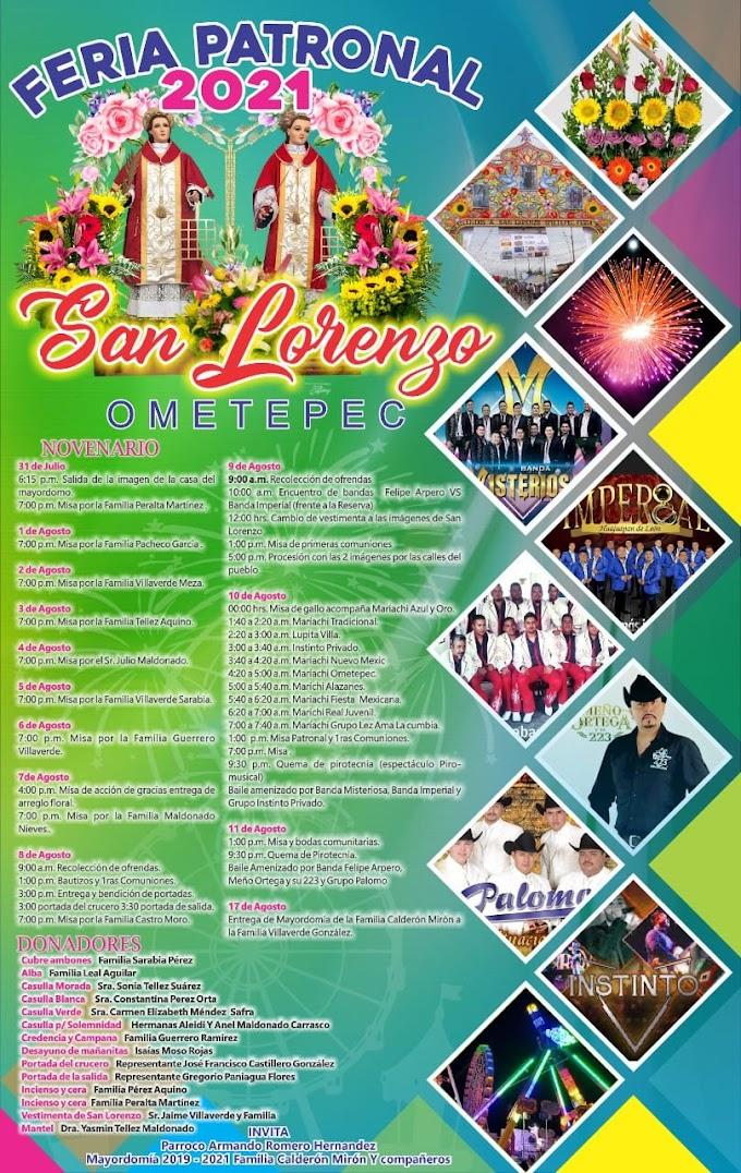 Feria San Lorenzo Ometepec 2021