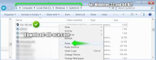 fix missing and install blastem_libretro.dll in the system folders C:\WINDOWS\system32 for windows 32bit