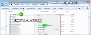 fix missing and install igfxDTCM.dll in the system folders C:\WINDOWS\system32 for windows 32bit
