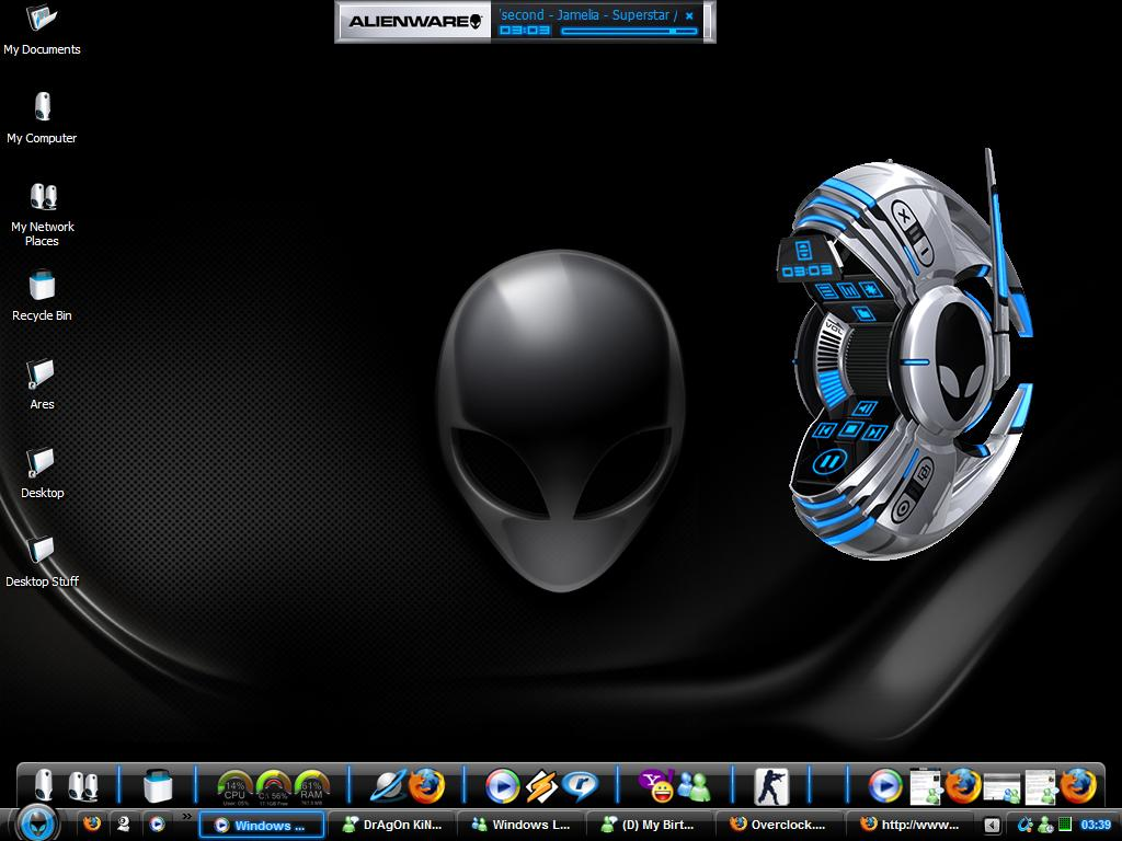 Download AlienWare Themes for Windows XP ~ Neweby game