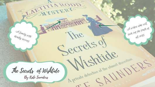 Steep For 5-10 Minutes ~ The Secrets of Wishtide by Kate Saunders Review