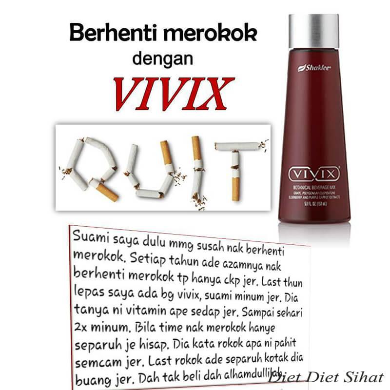 vivix shaklee untuk perokok tegar