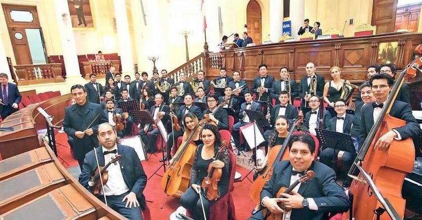 Orquesta Sinfónica Municipal de Piura se luce entre la música clásica y popular