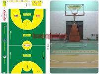 Jasa Pengecatan Lapangan, Basket, Tenis dan Futsal Termurah