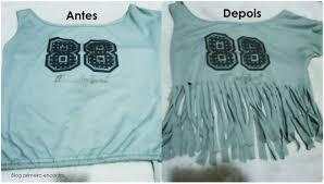 e82a96e0087e9 Fazer franjas em uma camisa é fácil e divertido
