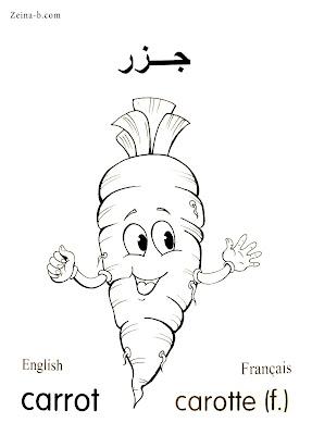 جزر - Carrot - Carotte