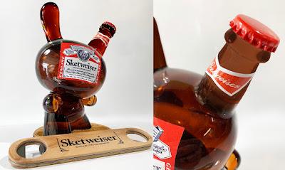 """Sketweiser Custom 8"""" Dunny Resin Figure by Sket One"""