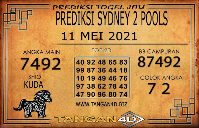 PREDIKSI TOGEL SYDNEY2 TANGAN4D 11 MEI 2021