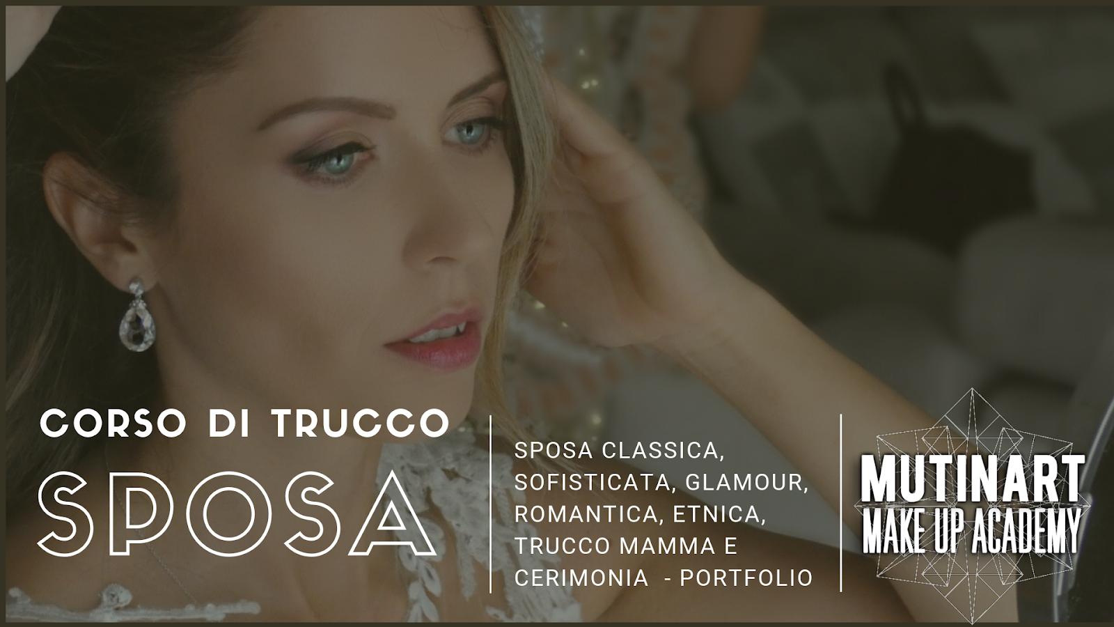 Corso di Trucco Sposa Modena Sposa Etnica Sposa Matura con Portfolio