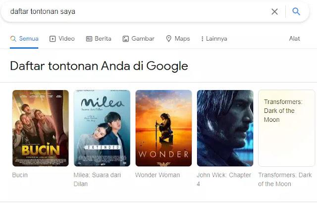 Cara Membuat Daftar Tontonan Film Sendiri Menggunakan Google Penelusuran-3