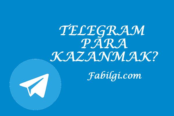 Telegram Kanal Açarak Hızlı Para Kazanma Yöntemi Hızlı ve Kolay