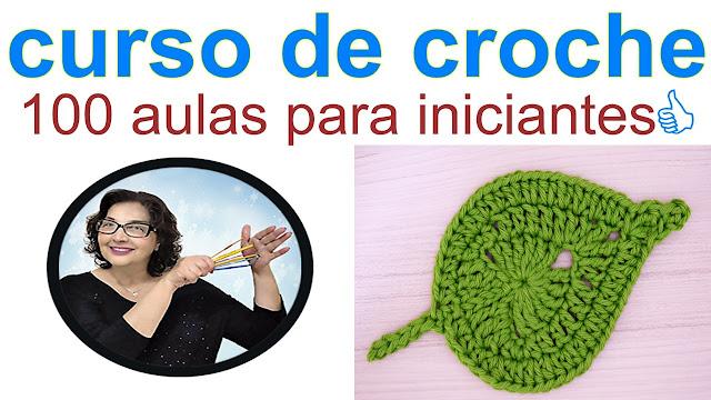 Curso de Crochê Grátis - 100 Aulas Passo a Passo para Iniciantes