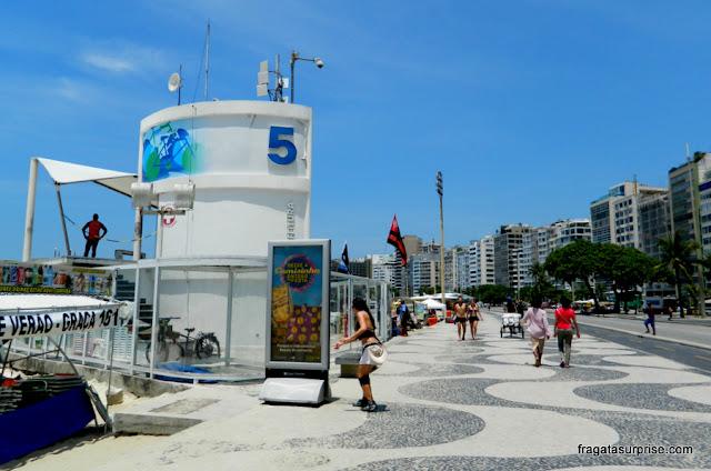 Posto 5, Avenida Atlântica, Copacabana, Rio de Janeiro