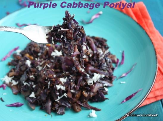Purple Cabbage Stir fry